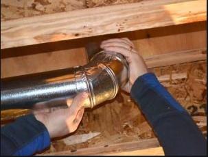 Repair AC Duct Work